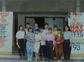 Hội thi giọng hát hay PTTH toàn quốc tại Saigon 1993