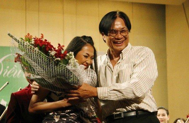 Nhạc sĩ Dương Thụ và ca sĩ Nguyên Thảo